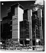 Irelands Ifsc International Financial Services Centre In Dublins Docklands Dublin City Centre Acrylic Print