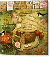Irish Brown Bread Acrylic Print