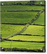 Irish Countryside Near Valenica Island Acrylic Print