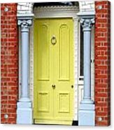 Irish Door Five Acrylic Print