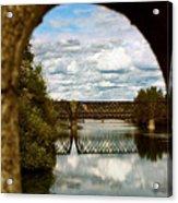 Iron Bridge Centenial Trail Acrylic Print