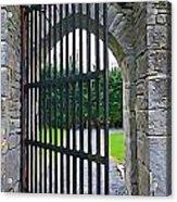 Iron Gate Acrylic Print