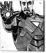 Iron Man Acrylic Print by Ralph Harlow