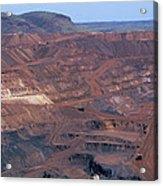 Iron Mine Acrylic Print by Dirk Wiersma