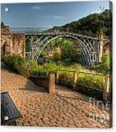 Ironbridge England Acrylic Print by Adrian Evans