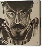Ironman Acrylic Print by Shawn Brooks