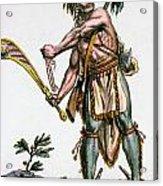 Iroquois Warrior Acrylic Print
