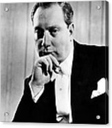 Isaac Stern 1920-2001, Violinist Acrylic Print by Everett