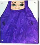 Isalm Woman Acrylic Print