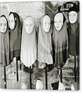 Islamic Mannequins Acrylic Print