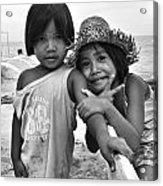Island Kids Acrylic Print