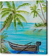 Island Paridise  Acrylic Print