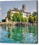 Island San Giulio Acrylic Print by Mats Silvan