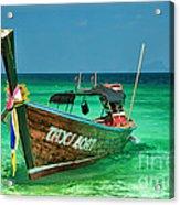 Island Taxi  Acrylic Print