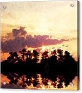 Islands In The Sky Acrylic Print