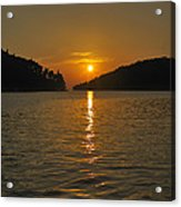 Island's Sunset Acrylic Print