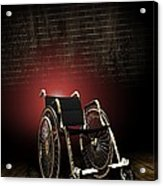 Isolation Through Disability, Artwork Acrylic Print