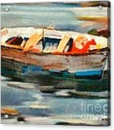 Istrian Fishing Boat Acrylic Print