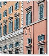 Italian Facade Acrylic Print