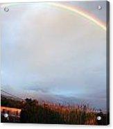Italian Rainbow Acrylic Print