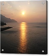 Italian Sunrise Acrylic Print