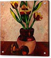Italian Tulips Acrylic Print