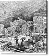 Italy: Earthquake, 1881 Acrylic Print