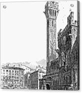 Italy: Siena, 19th Century Acrylic Print by Granger