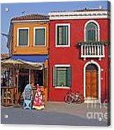 Italy Venice  Acrylic Print