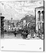 Italy: Verona, 1833 Acrylic Print