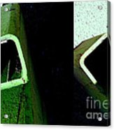 It's Not Easy Bein' Green Acrylic Print