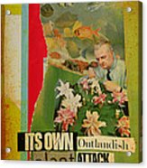 It's Own Outlandish Plant Attack Acrylic Print by Adam Kissel