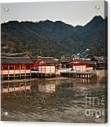 Itsukushima Shrine On Miyajima Island Acrylic Print