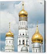 Ivan The Great Tower In Moscow Kremlin Acrylic Print