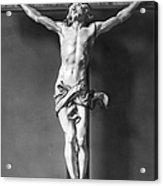 Ivory Crucifix Acrylic Print