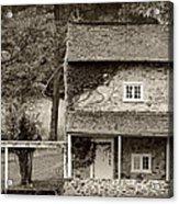 Ivy Covered Farmhouse Acrylic Print