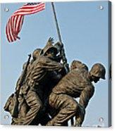 Iwo Jima Memoria 2 Acrylic Print