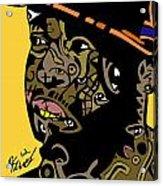J Dilla Full Color Acrylic Print