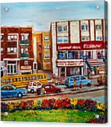 J Slawner Ltd Cote Des Neiges Acrylic Print