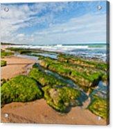 Jacarecica Beach Acrylic Print