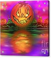 Jack And Friends By The Waters Edge Acrylic Print