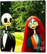 Jack And Sally  Acrylic Print