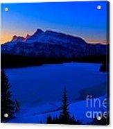 Jack Frost Blues Acrylic Print