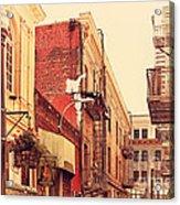 Jack Kerouac Street San Francisco . 7d7437 Acrylic Print