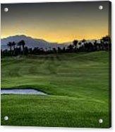 Jack Nicklaus Golf Course Acrylic Print