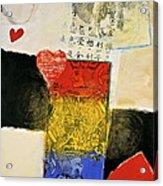Jack Of Hearts 46-52 Acrylic Print