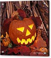 Jack's Grim Grin - Fm000065 Acrylic Print