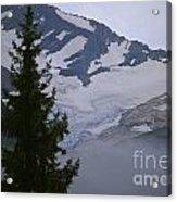 Jackson Glacier Icefields Acrylic Print