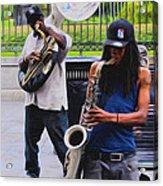 Jackson Square Jazz Acrylic Print