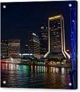 Jacksonville Florida Riverfront Acrylic Print
